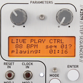 Kilpatrick Audio K2579 Step Sequencer