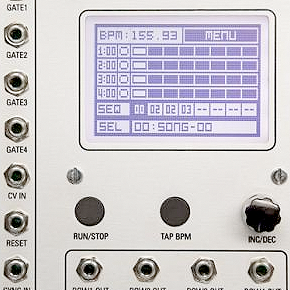 Modcan Touch Sequencer w euro!