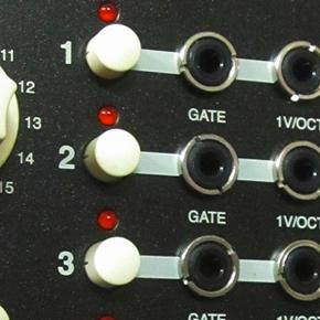Vermona Quad MIDI/CV interface: prototyp